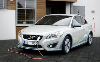 Volvo a început producţia versiunii electrice a lui C30