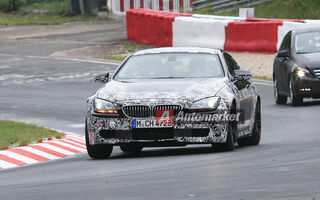 FOTO EXCLUSIV* : Noul BMW M6 Coupe, surprins pe Nurburgring