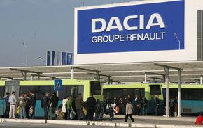 Dacia instalează panouri solare la uzina de la Mioveni