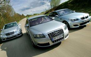 Primele angajaţilor Audi, BMW şi Mercedes în 2010: între 3150 şi 6513 euro