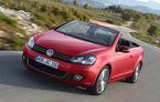 Volkswagen Golf Cabrio pleacă de la 21.056 de euro în România