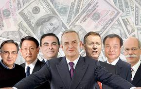 Topul salariilor preşedinţilor auto în 2010