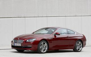 OFICIAL: Noul BMW Seria 6 Coupe - imagini şi informaţii complete