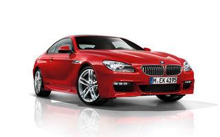 BMW Seria 6 Coupe a primit şi un pachet M