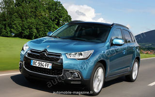 Peugeot RXC şi Citroen C-Crossback, fraţii francezi ai lui Mitsubishi ASX