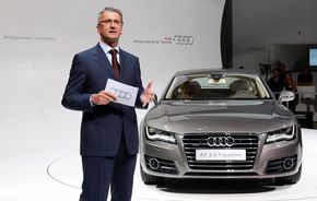 """Şeful Audi: """"Vrem să dublăm vânzările până în 2020"""""""