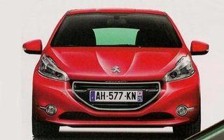 Primele imagini prelucrate digital ale viitorului Peugeot 208