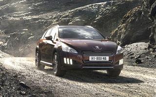 OFICIAL: Peugeot 508 RXH, noul vârf al gamei mărcii franceze