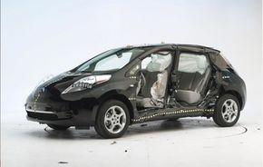 Nissan Leaf a primit cinci stele şi la testele de siguranţă din Australia