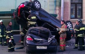 2xVIDEO: Accident grav cu Nissan GT-R în Moscova