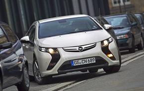 Opel Ampera intră în flotele companiei de închirieri Europcar