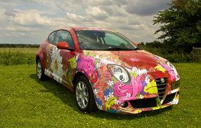 "Alfa Romeo MiTo reaprinde spiritul ""flower power"" la Londra"