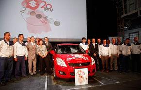 Suzuki săbătoreşte 2 milioane de maşini produse la uzina din Ungaria