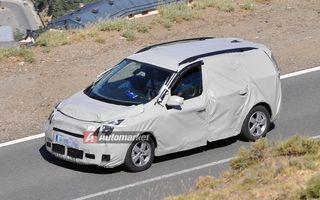 FOTO EXCLUSIV*: Primele imagini ale lui Renault Scenic facelift