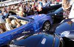 Accident în lanţ cu maşini de lux în Monaco