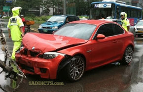 Primul accident al noului BMW Seria 1 M vine din Coreea