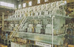 Cel mai puternic motor din lume: 109.000 CP şi 7.6 milioane Nm