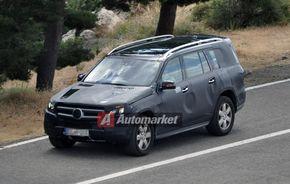FOTO EXCLUSIV*: Imagini noi cu viitorul Mercedes-Benz GL
