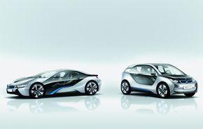 OFICIAL: Conceptele BMW i3 şi i8 se prezintă