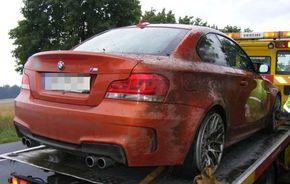 Al doilea accident al lui BMW Seria 1 M