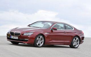 OFICIAL: BMW Seria 6 Coupe, în România de la 80.352 euro cu TVA