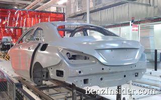 Primele imagini ale viitorului Mercedes-Benz BLS/CLC