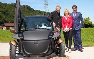 KTM prezintă prototipul unui model electric de oraş: E3W