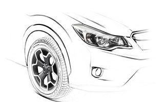 Subaru a prezentat primul teaser al lui Impreza XV