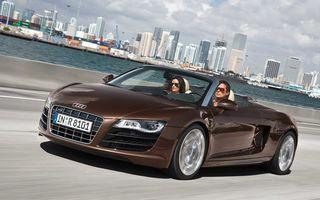 Audi face un recall pentru R8 Spyder