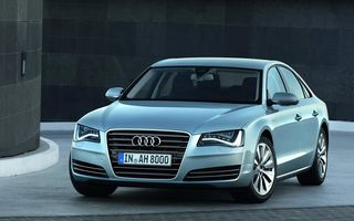 Audi A8 Hybrid - poze şi informaţii oficiale
