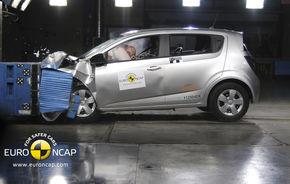 Ultimele teste EuroNCAP: Nouă modele cu cinci stele, evoluţie excelentă a lui Chevrolet Aveo