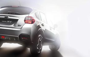 Subaru XV, prima imagine a posteriorului