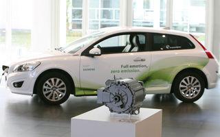 Volvo şi Siemens anunţă un parteneriat pentru producţia de vehicule electrice