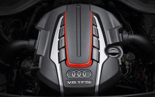 Noul motor V8 de 4.0 litri de la Audi poate să-şi dezactiveze patru cilindri