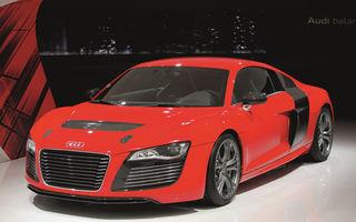 Audi R8 e-tron vine la Frankfurt într-o nouă versiune