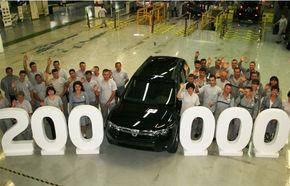 Dacia a produs 200.000 de Dustere la Mioveni