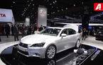 FRANKFURT 2011 LIVE: La standul grupului Toyota a strălucit Lexus GS