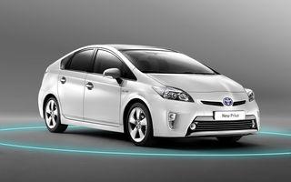 Toyota Prius facelift a debutat la Frankfurt