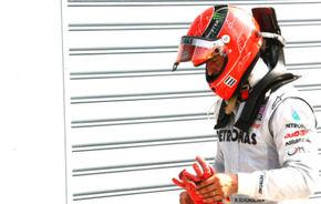 Fanii germani îi recomandă lui Schumacher să se retragă din F1