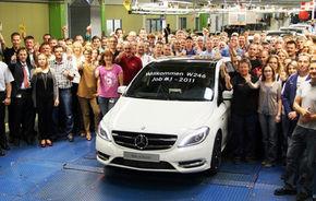 Mercedes a demarat producţia noului B-Klasse