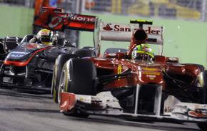 """Ferrari i-a transmis lui Massa """"să-i distrugă cursa lui Hamilton"""" în Singapore"""