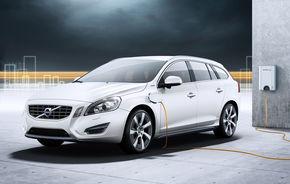 OFICIAL: Volvo lansează V60 Plug-in Hybrid, cu consum de 1.9 l/100 km