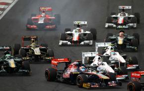 FIA confirmă zonele DRS pentru depăşiri din India
