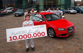 Audi a produs 10 milioane de exemplare A4 şi 80