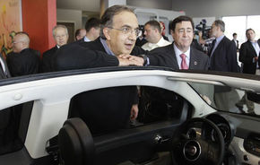 "Marchionne: ""La fiecare Fiat 500 electric vândut vom pierde 10.000$"""