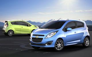 Chevrolet Spark electric devine cea mai puternică versiune a modelului de oraş: 114 CP