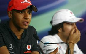 Hamilton şi Perez, penalizaţi cu trei poziţii pe grilă în India!
