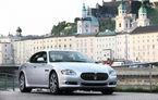 Scandal în Italia: Guvernul a cumpărat 19 Maserati Quattroporte în plină criză