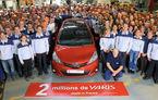 Toyota a produs două milioane de Yaris-uri