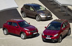 FEATURE: O zi de joacă pe crossoverele Nissan: Qashqai, Juke şi Murano
